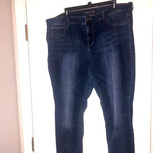 Maurice Skinny jeans size 22